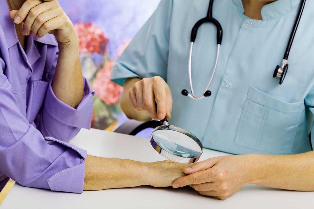 Прием врача дерматовенеролога